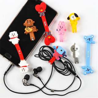 [PO]BT21 USB Cable Winder