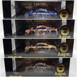 Aape x Audi R8 LMS