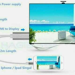 Ipad iphone Samsung hdmi TV Cables