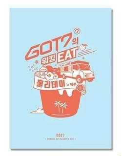 GOT7 - GOT7 WALKING EAT HOLIDAY IN JEJU DVD