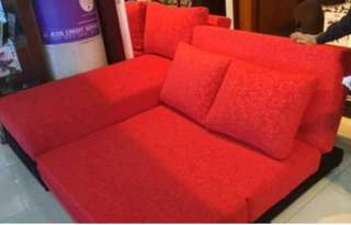 Kredit SOFA L BED TANPA DP hanya di HOME CREDIT