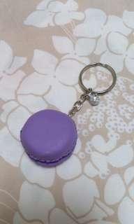 馬卡龍造型鑰匙圈