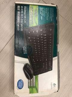 Logitech Desktop MK120 Keyboard (only keyboard)
