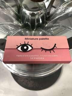 Sephora Miniature Eyeshadow Palette