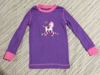 Pony print sweater