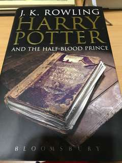 Harry Potter and the half-blood prince (1st ed)