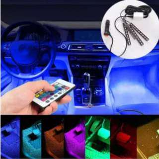 BNIB Variable Colour Interior Atmosphere LEDs with remote control