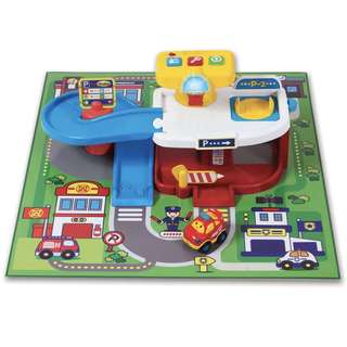 (In-Stock) Winfun Go Go Driver Super Car Park Playset with Extra Tracks (Brand New)