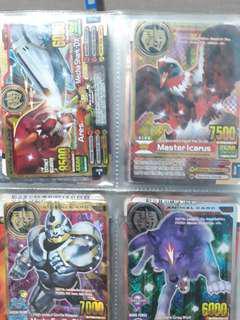 🚚 WTS Animal Kaiser Cards
