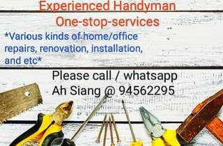 Handyman services - reliable & experienced