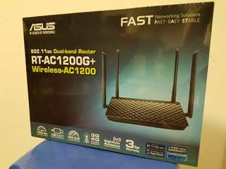 ASUS RT-AC1200G+  FAST ROUTER!