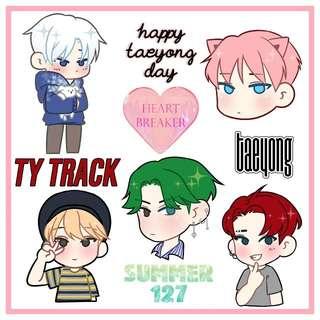 NCT Taeyong Sticker Set
