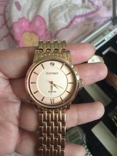 Ellen tracy diamond watch