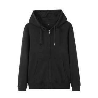Plain Hoodie Jacket (Unisex)