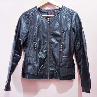 Doll House faux leather jacket