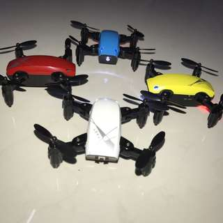 Flying Drones with Remote Control with attractive colours to choose from!