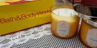 Limoncello scented candle- Bath & Body works