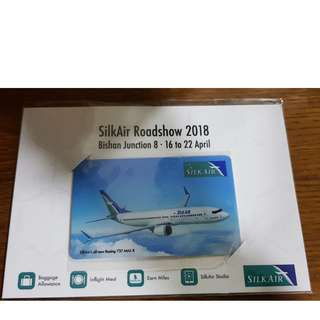 Brand New Collectible Silkair Roadshow Ezlink