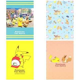 Pokemon Center Minna no monogatari A5 Notebook (Pre-Order)