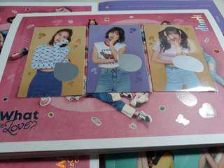 🚚 WTS Twice What is Love Scratch Cards