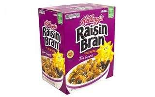 Kellogg's Raisin Bran Breakfast Cereal