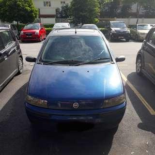 2001 Fiat Punto 1.3 Hatchback (A)
