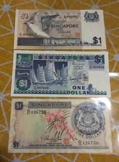 Singapore $1 Old Notes