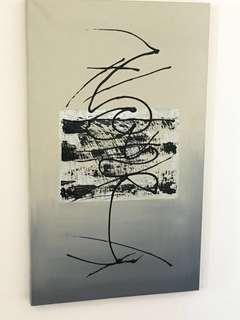 Canvas painting Jap