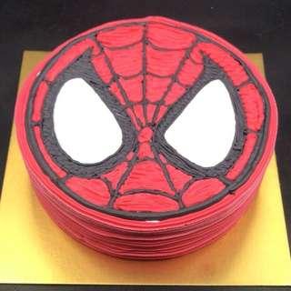 蜘蛛俠蛋糕一磅
