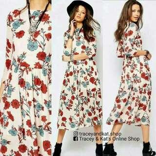 Zara Inspired Midi Dress