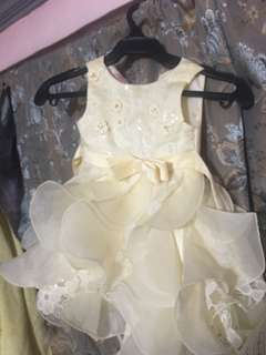 Gown for 1-2 years old
