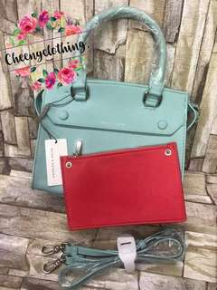 Charles and Keith 2in1 bag