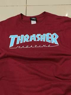 Thrasher tee ( not stussy,undefeated,the hundreds,vans )