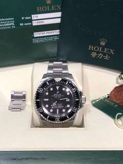 Rolex-116660-水貨-V頭-小丑皇冠-Full Set!