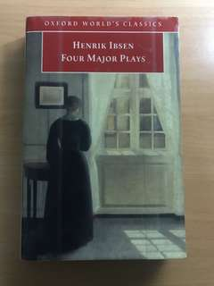 Henrik Ibsen Four Major Plays