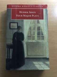Henrik Ibsen Four Major Plays