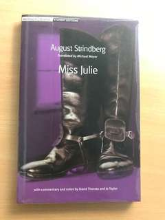 Miss Julie August Strindberg