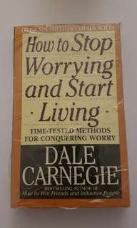 How to stop worrying and start living by Dale Carnegie.
