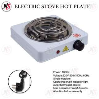 Electric Stove Hot Plate- Single Burner