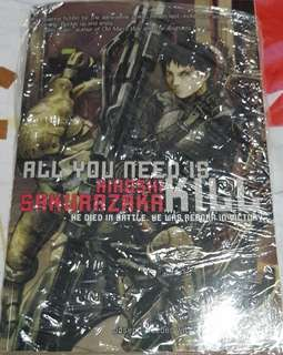 All You Need Is Kill Light Novel