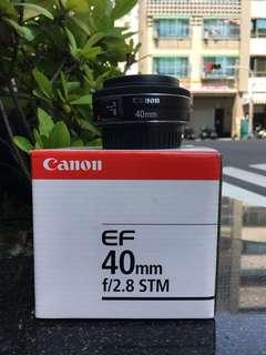 🚚 曙光數位 Canon 40mm F2.8 STM / 99%