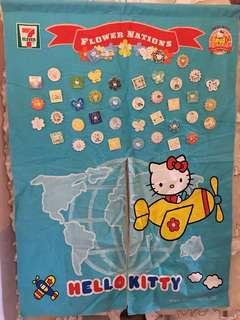 Hello Kitty 門廉連43扣針