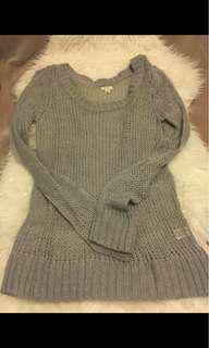 Soft grey sweater from Aerie- size L