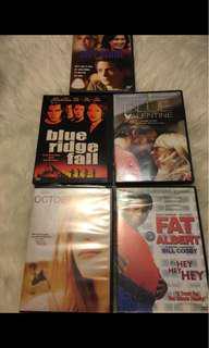 Assorted DVDS- $.50 each