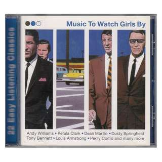 Various Artists: <Music To Watch Girls By> 1999 CD