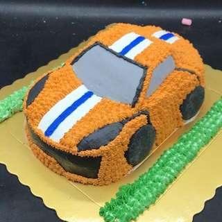 跑車蛋糕一磅半