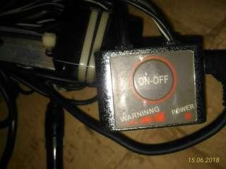 Motorcycle radar detector