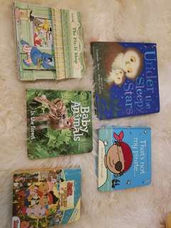 Board book lot take all 5 for $5. Excellent condition. Trade for your 5 board books or take all 5. Pick up beaches or yorkville