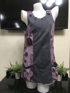 Polkadots Purple Dress