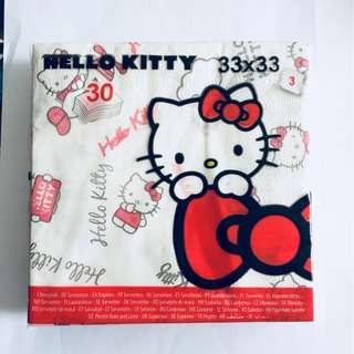 BN Limited Edition Hello Kitty Serviettes Napkins